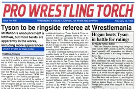 Wade Keller Launches Pro Wrestling Torch Newsletter