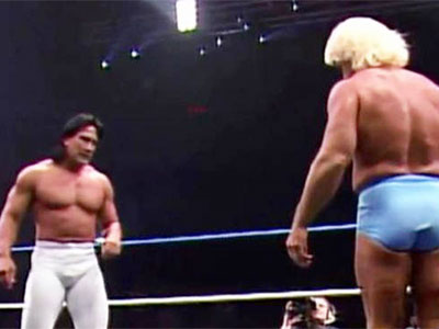 Ric Flair - Ricky Steamboat - historyofwrestling.com