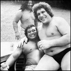 Peter Maivia - Andre the Giant - historyofwrestling.com