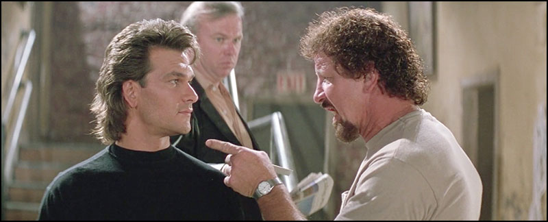 Patrick Swayze - Terry Funk - Kevin Tighe - Road House - historyofwrestling.com