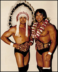 Ricky the Dragon Steamboat - Jay Youngblood - historyofwrestling.com