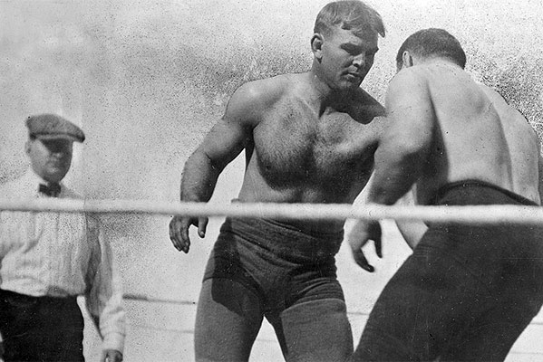 Frank Gotch Defeats George Hackenschmidt in Rematch - History of Wrestling
